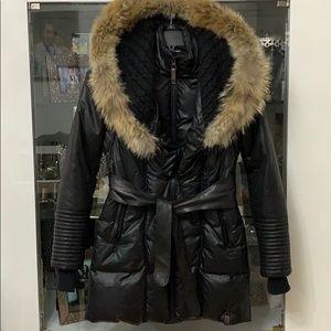 Rudsak Genuine Coyote Fur Sophie Coat S